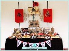 mesa dulce fiesta pirata