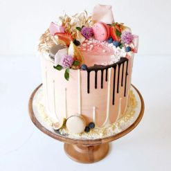 Pastel boda Drip Cake (5)