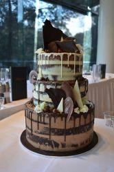 Pastel boda Drip Cake (9)